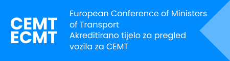 European Conference of Ministers of Transport - Akreditirano tijelo za pregled vozila za CEMT